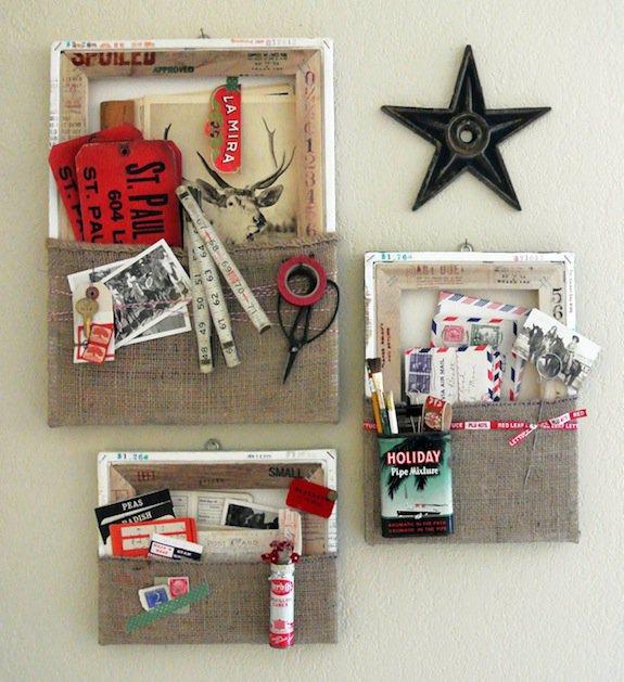 Flashback: Reverse Canvas Wall Pockets