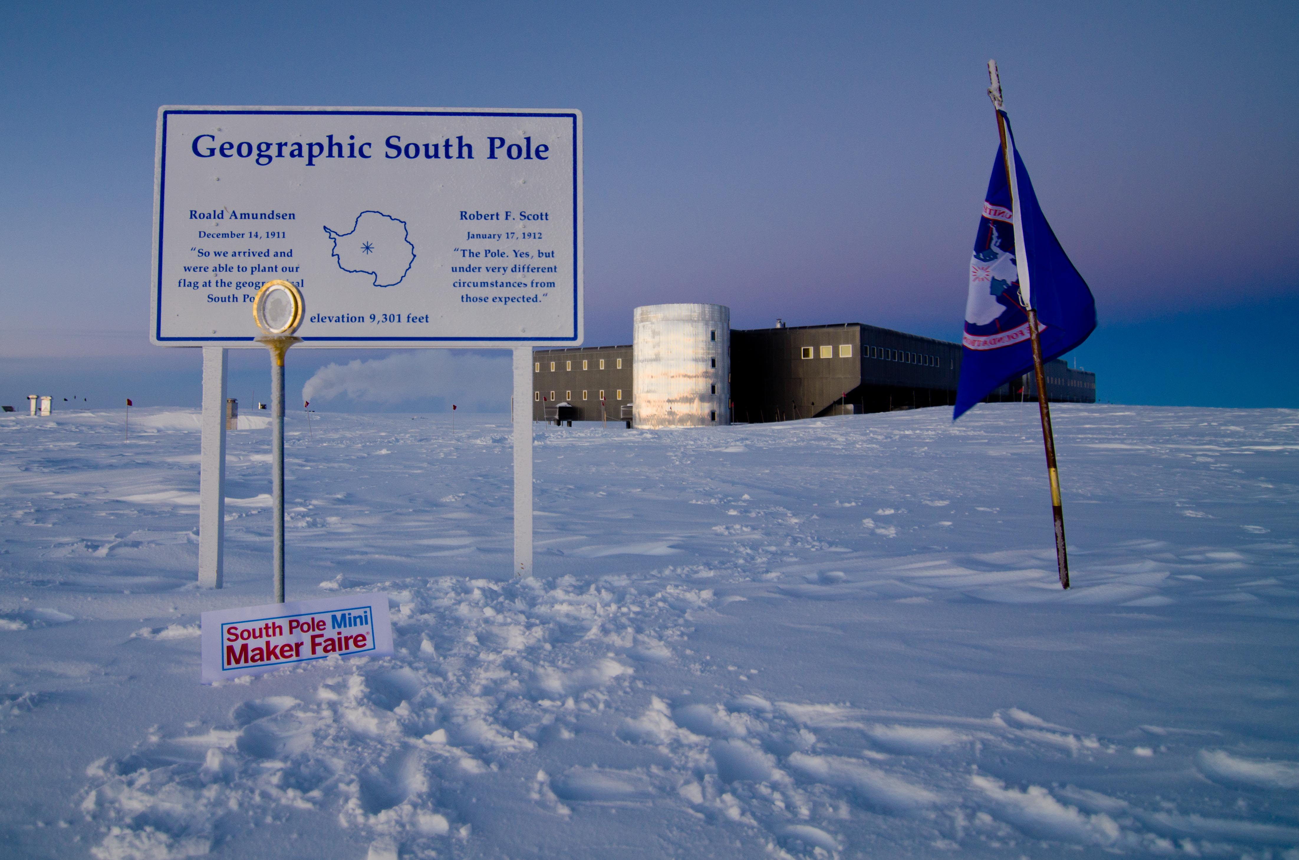 The First South Pole Mini Maker Faire