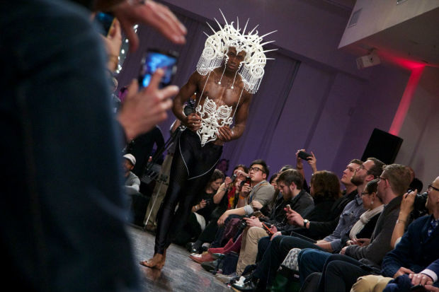 The 3D printed fashion of Joshua Harker