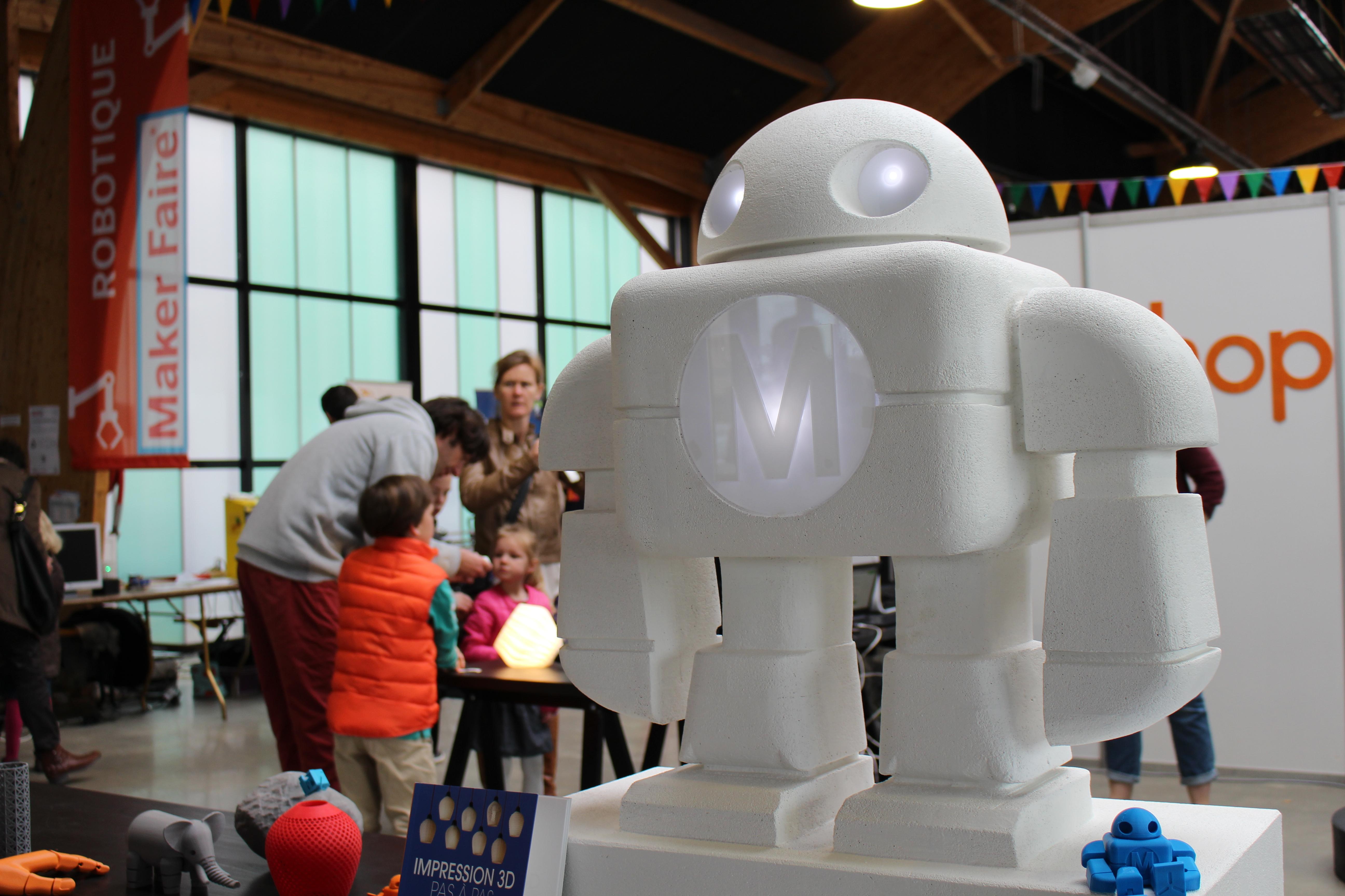 A Robot Sculpture, Made By A Robot