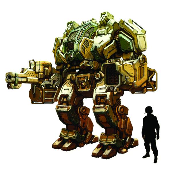 MegaBot Concept Art - FINAL