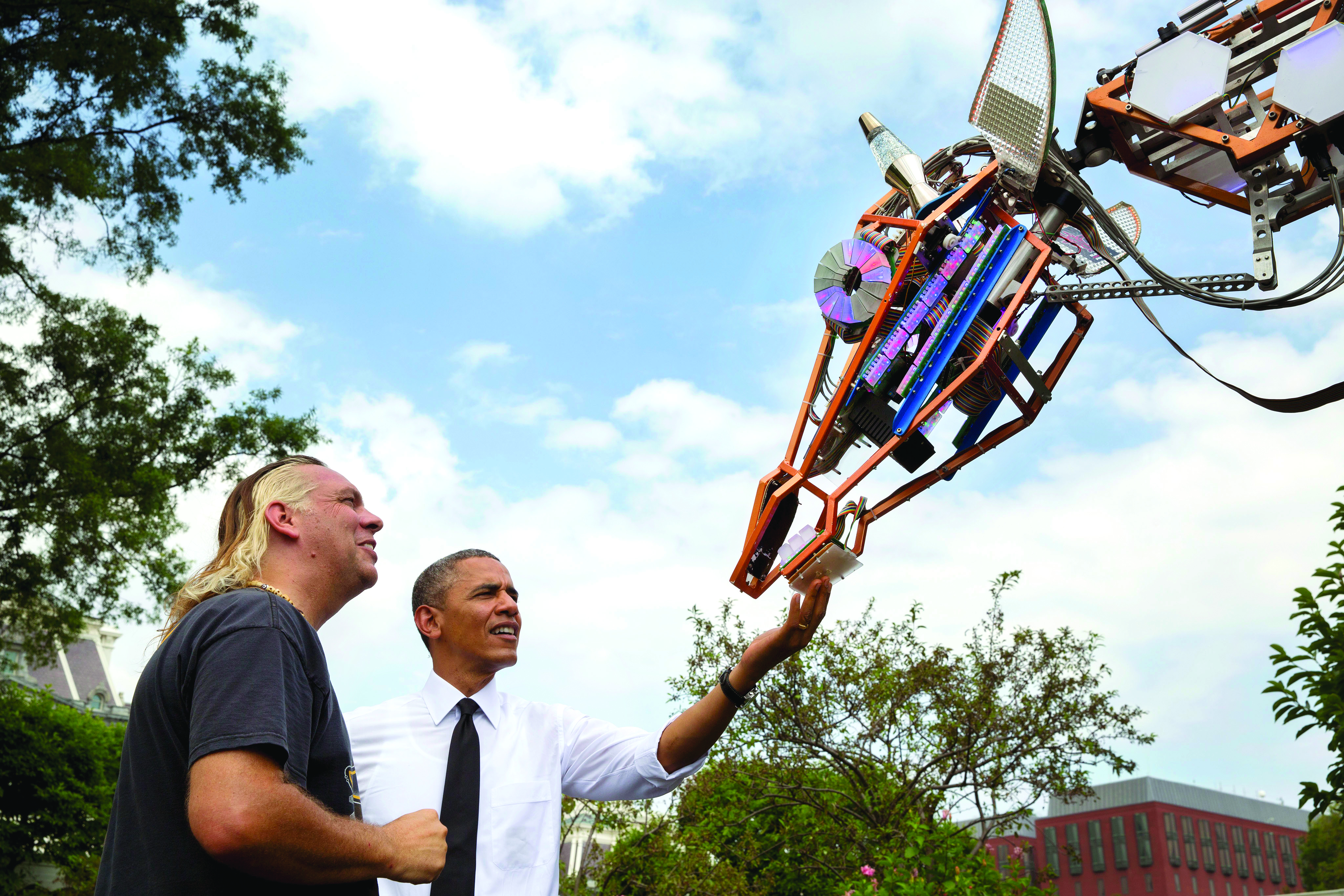 President Obama Proclaims: This Is a National Week of Making