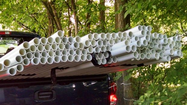 Pic 13 (PVC in truck)