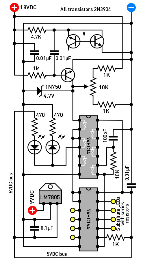Really really random number generator make figure a in this simple schematic a reverse biased transistor generates electrical noise that is amplified by 2 more transistors digitized through an ccuart Images
