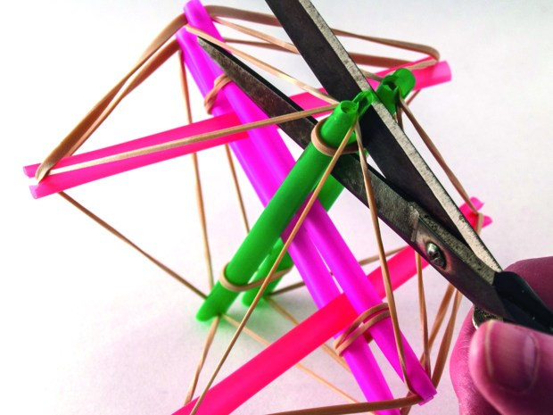 Build a Simple Robot with a Tensegrity Structure