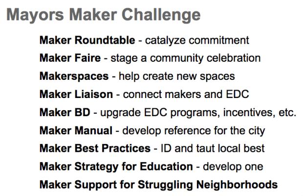 Mayors Maker Challenge