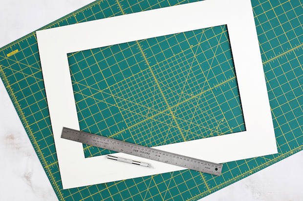 Decor Upgrade: DIY Patterned Photo Mats