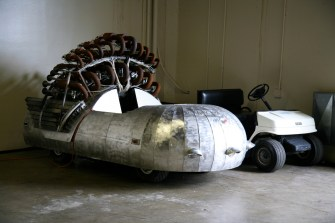 Art cars have been a common feature of Maker Faire since the first event.