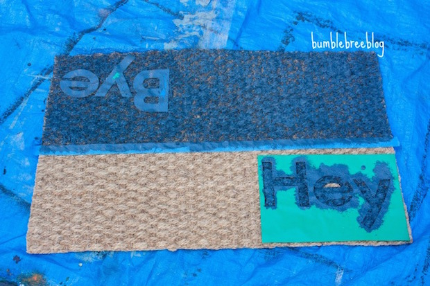 Welcome Home: Dual Greeting Welcome Mat