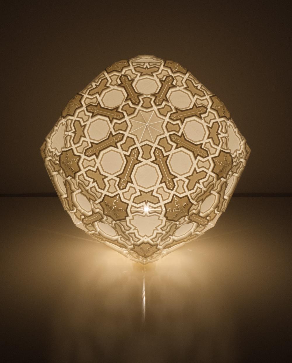 Artist Creates Breathtaking 3D Printed Lamps
