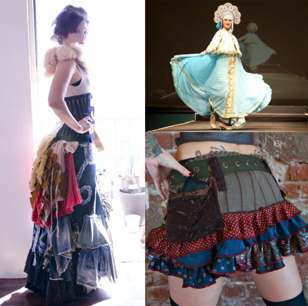 fashion maker faire collage