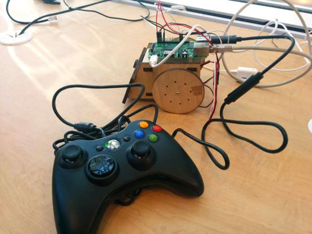 Dan Rosenstein designed and built a bunch of Raspberry Pi robots running Windows 10 IoT Core