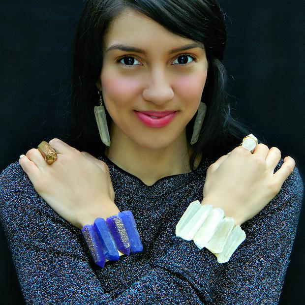 DIY Gems: Faux Quartz Crystal Jewelry