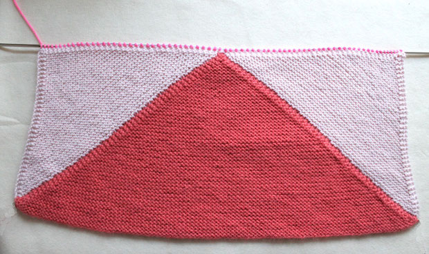 Baby Knits: Flying Geese Baby Blanket