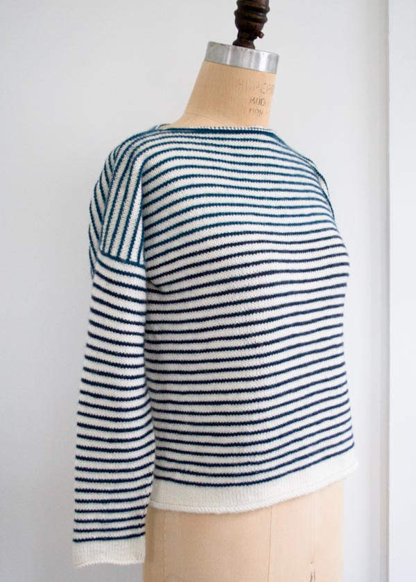 Warm Weather Knits: Striped Spring Shirt