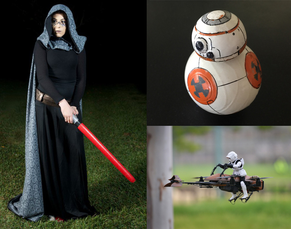 May the 4th Be With You: 5 Fun Star Wars How-To Projects