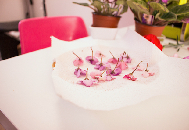 Spring Beauty: Make Temporary Tattoos with Dried Flowers