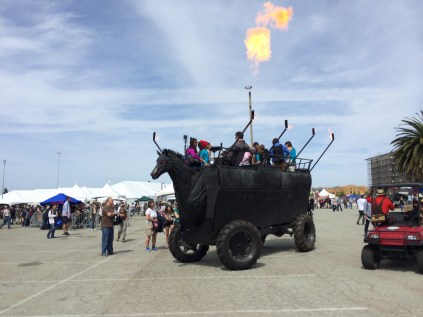 Trojan Horse with the top down? MFBA 2014. Photo by John Biehler.