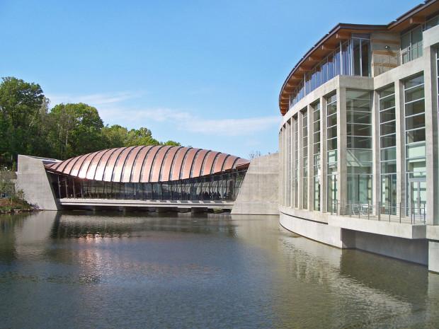 Crystal Bridges Museum of American Art in Bentonville, Arkansas
