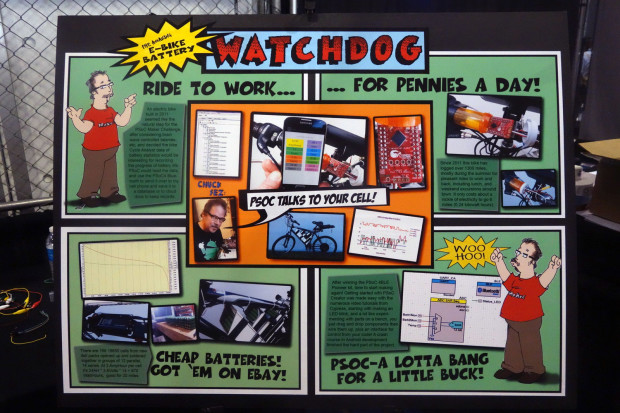 The completed 'watchdog' sign; click for a full-size version.
