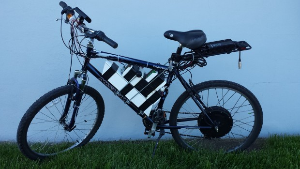 Chuck's winning PSoC eBike build.