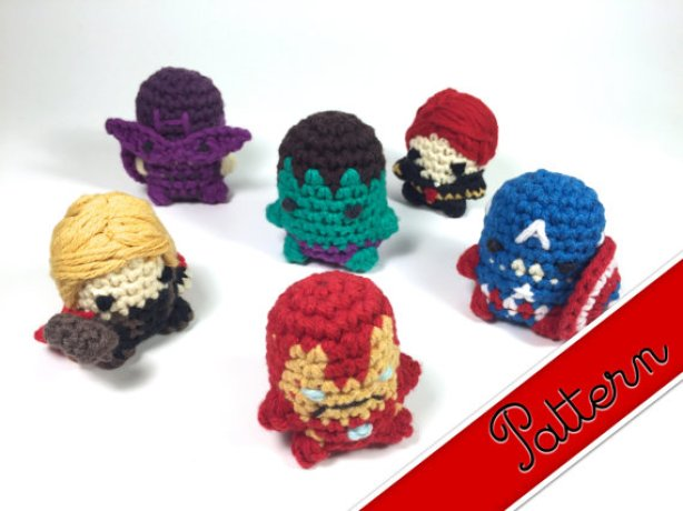 The Avengers. (Image courtesy of Etsy.)