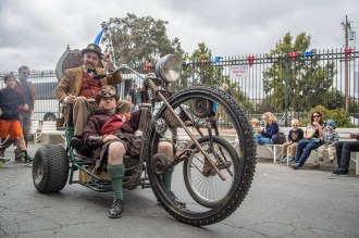 The Chimera Tricycle has room for two!