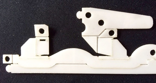 Hinged Laser-Cut Dash Robots