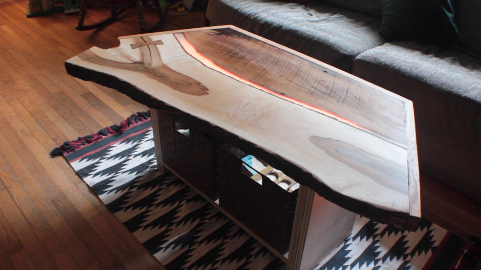 Build a Tron-Inspired Coffee Table