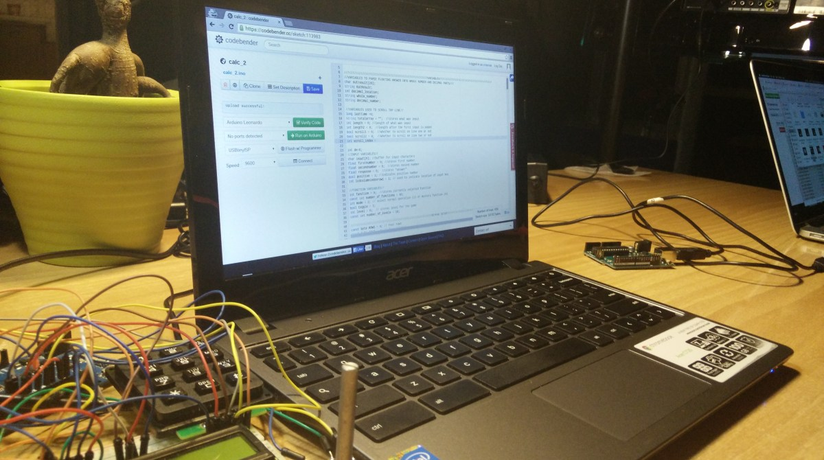 Program Your Arduino from Your Chromebook