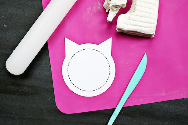 Cat Craft: Clay Kitty Coasters
