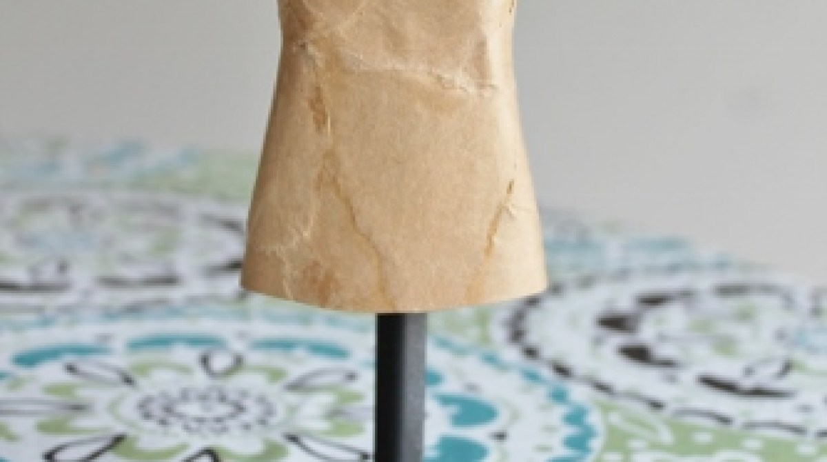 Make a Vintage-Inspired Mini Mannequin out of a Dish Soap Bottle