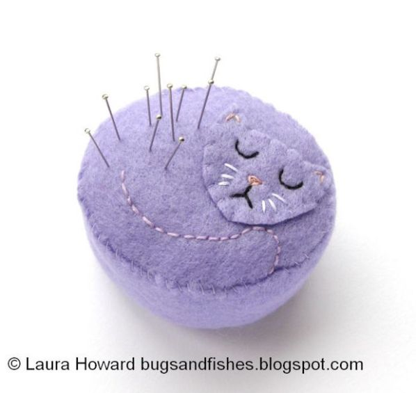 Stitch It: Purrrfect Kitty Cat Pincushion