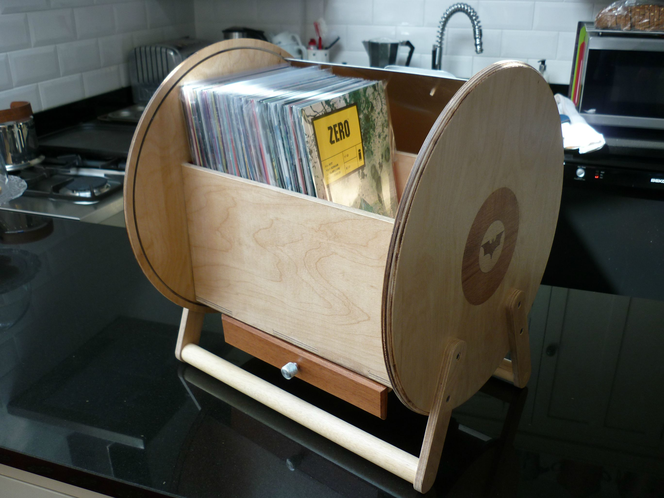 Incredible Wooden Comic Book Holder