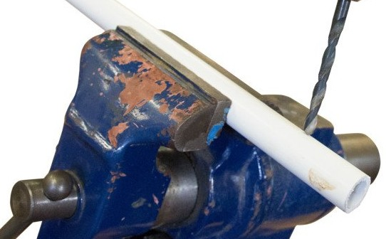 The best ways to cut drill and glue pvc pipe make