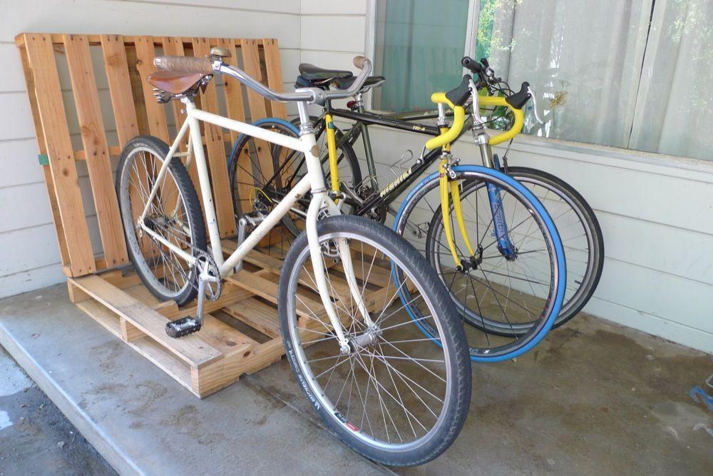 6 bike storage solutions you can build right now make rh makezine com