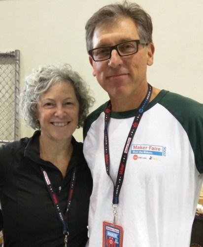 Bruce Shapiro and his wife, Maureen.