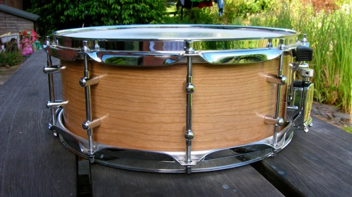 Build Your Own Beautiful Custom Snare Drum Make