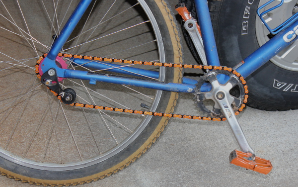 """Converting a Mountain Bike into a Single Speed """"Road Warrior"""""""