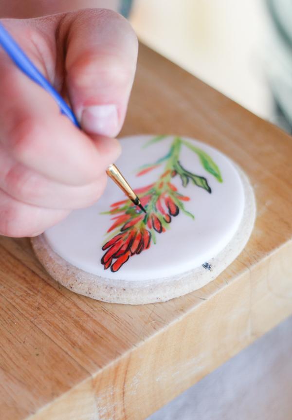 Kitchen Art: Painting on Sugar Cookies