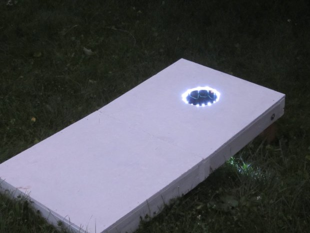 Add Light Up Effects to Backyard Games