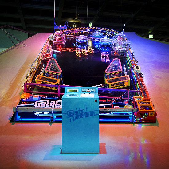 Pinball Wizard Builds Massive Machine