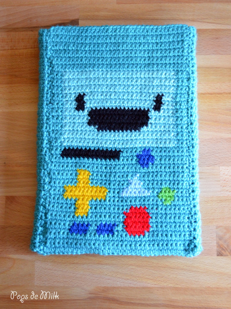 Clever Crochet: DIY BMO Tablet Case