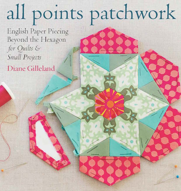 All Points Patchwork Project Excerpt: Making Templates for English Paper Piecing