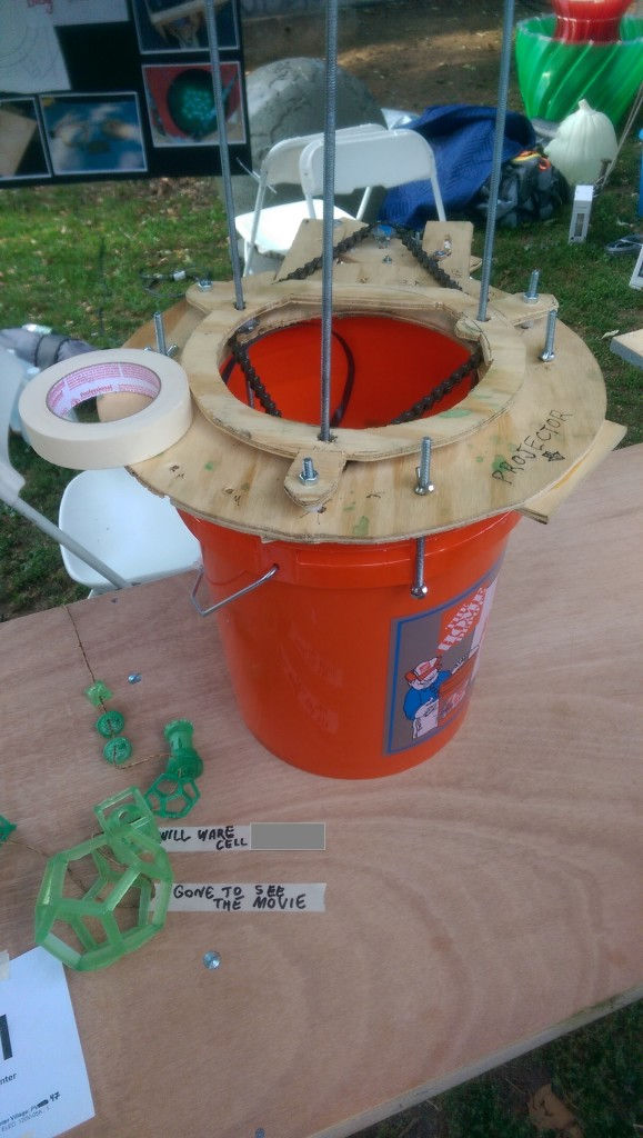 The Bucket Printer At World Maker Faire 2014
