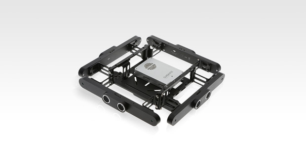DJI's Guidance accessory adds advanced visual tracking and obstacle avoidance to the Matrice 100.