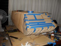 And the front gets some covering and lower curved ribs.