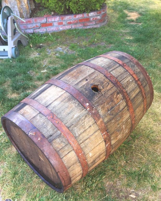 Wiskey-Barrel