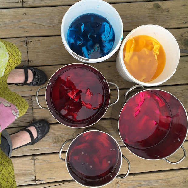 Try Something New: Cotton Fabric Dyeing 101