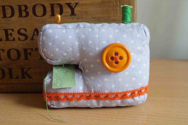 Cute and Crafty: Mini Plush Sewing Machine